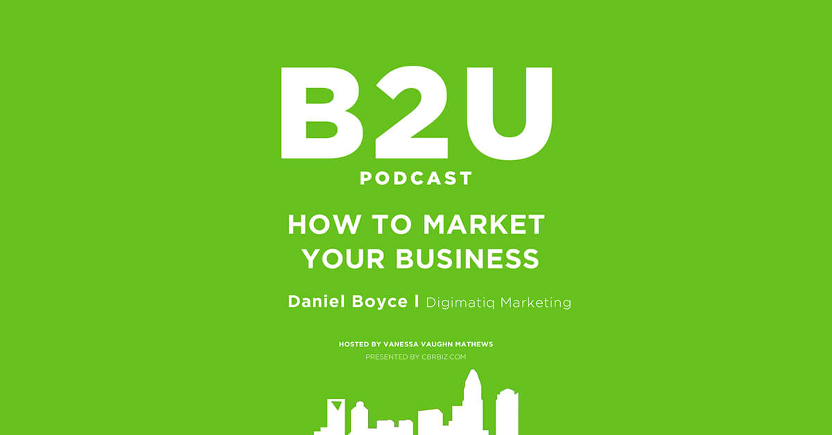 Purple header image of the B2U Podcast, episode Mentorship and Paying it Forward with Stacy Cusio from the Pink Mentor Network